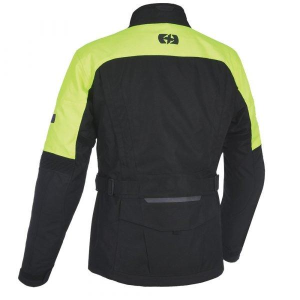 Oxford Continental Advanced Jacket Black Flou back