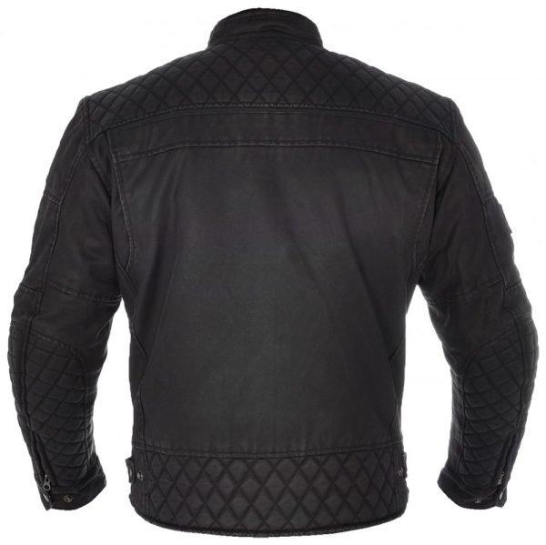 Oxford Hardy Wax Jacket Black Black