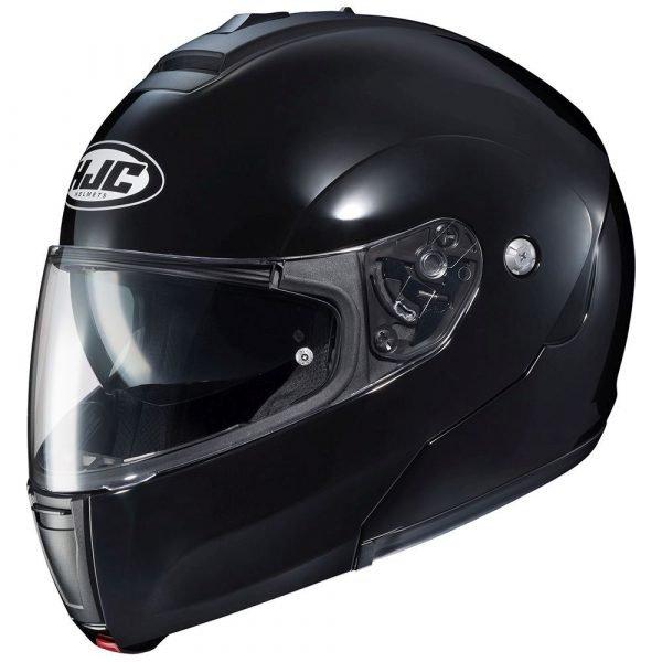 HJC C90 Helmet - Plain Black colour, Chelsea