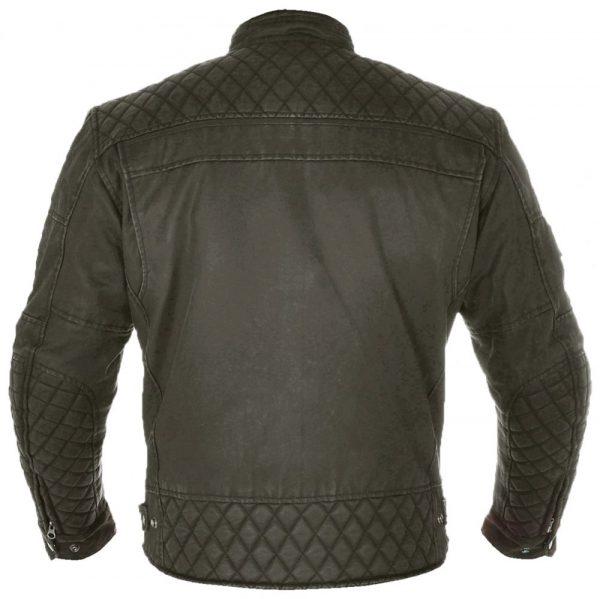 Oxford Hardy Wax Textile Jacket - black