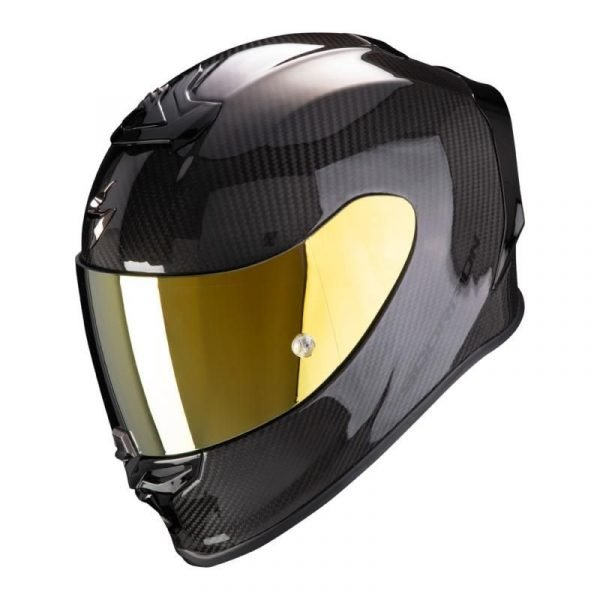 Scorpion Exo R1 Helmet - Carbon Gloss colour - Motorcycles & Scooter clothing shop, UK
