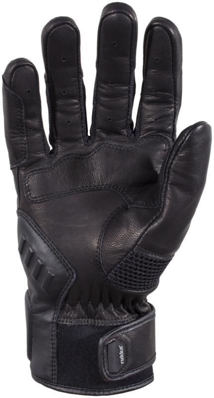 Rukka AFT Gloves - Black colour, Motorbike Clothing Shop, UK