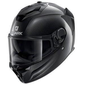 Shark Spartan GT Carbon Skin Helmet - Anthracite colour, Motorbike Clothing Shop