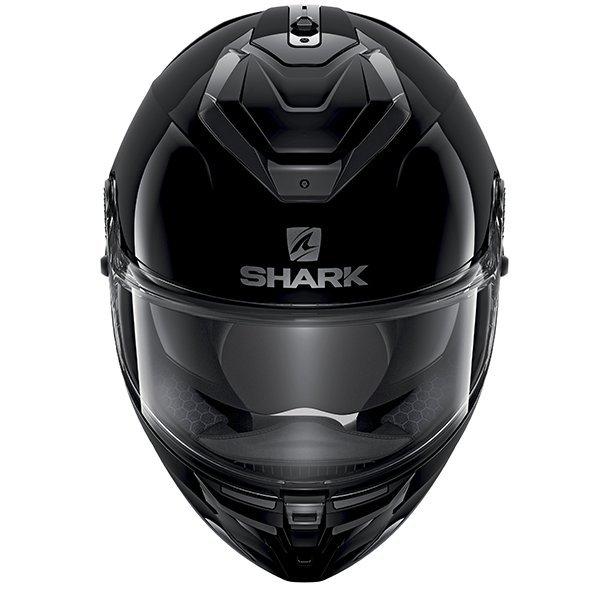Shark Spartan GT Helmet - Blank Black colour, CMG Shop