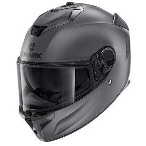 Shark Spartan GT Blank Matt Anthracite Helmet - Chelsea, London, UK
