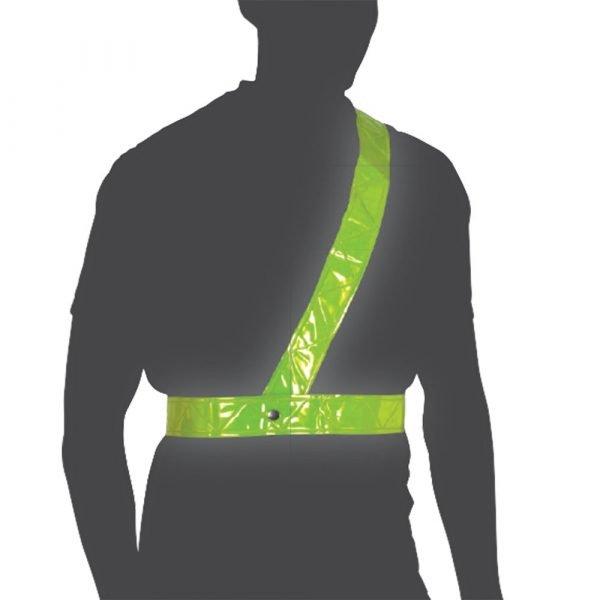 Oxford Cycle Bright Belt Reflective Shoulder Strap, Chelsea