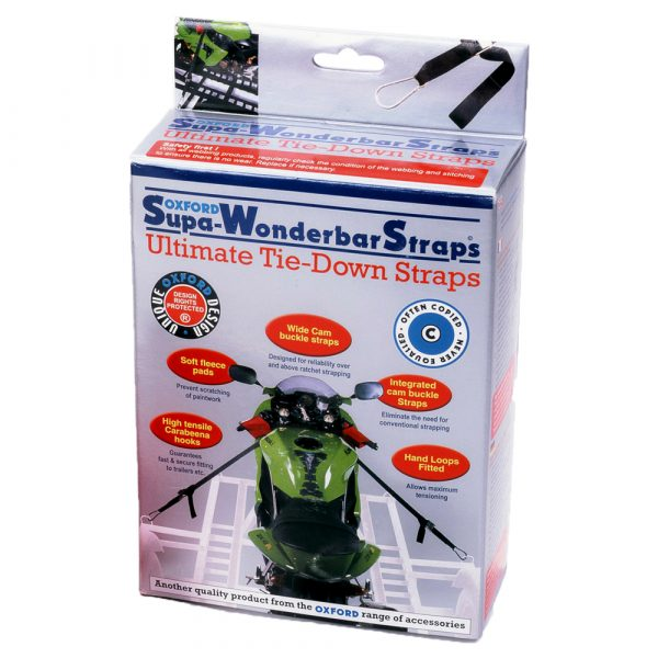 Oxford Super Wonderbar Straps - Chelsea Motorbike & Scooter Clothing & Accessories Store