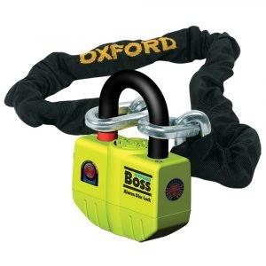 Oxford BIG Boss Alarm Lock & Chain 12mm