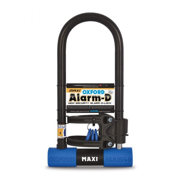 Oxford Alarm-D Max 320mm x 173mm - Scooter Accessories, UK