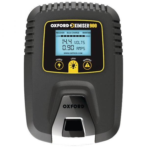 Oxford Oximiser 900 Essential Battery Management System - Black colour, CMG