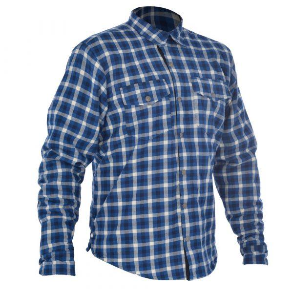 Oxford Kickback Shirt Checker - Blue/White