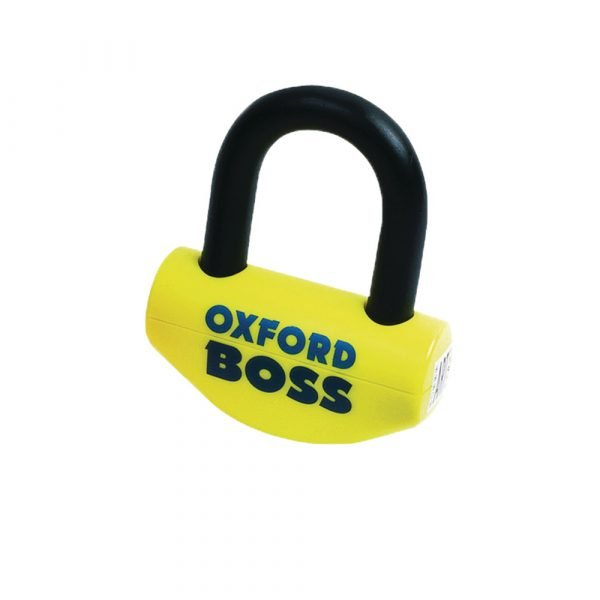 Oxford Big Boss Disc lock -16mm shackle, Chelsea Motorcycles Store, London