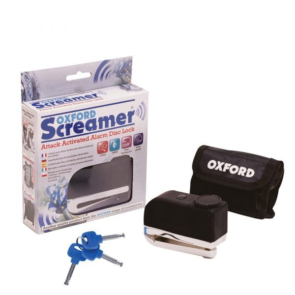 Oxford Screamer Alarm Disc Lock - Scooter Accessories Store, Chelsea