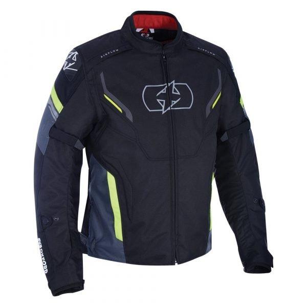 Oxford Melbourne 3.0 Short Jacket Black/Fluo colour