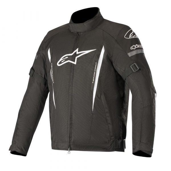 Alpinestars Gunner Jacket - Black/White colour, CMG Shop