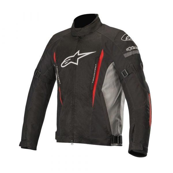 Alpinestars Gunner Jacket - Black/Grey/Red colour, Chelsea Clothing