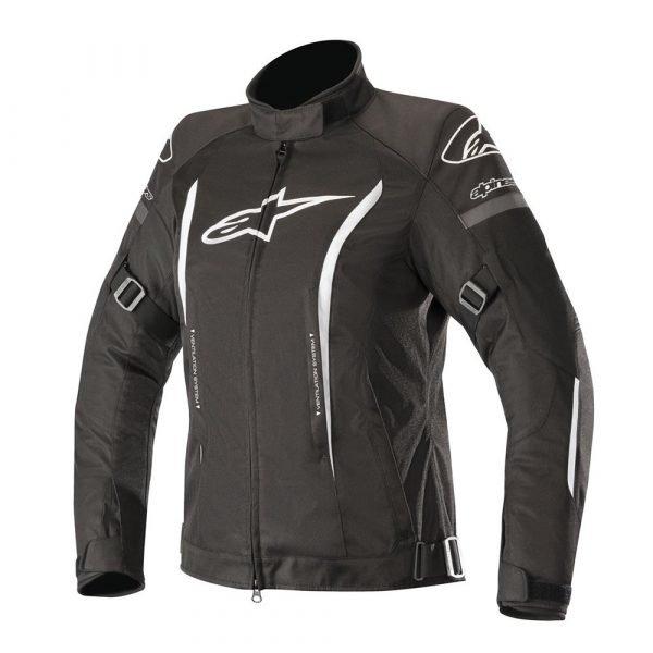 Alpinestars Stella Gunner v2 Waterproof Jacket - Black/White colour, Chelsea