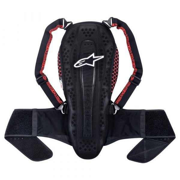 Alpinestars Nucleon Kr-2 Black Smoke Red Back Protector
