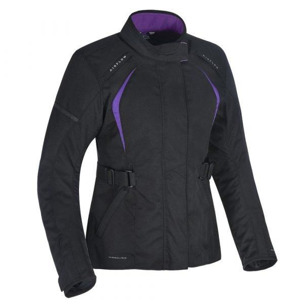 Oxford Dakota 2.0 Women's Motorbike Jacket - Black/Purple colour, Chelsea