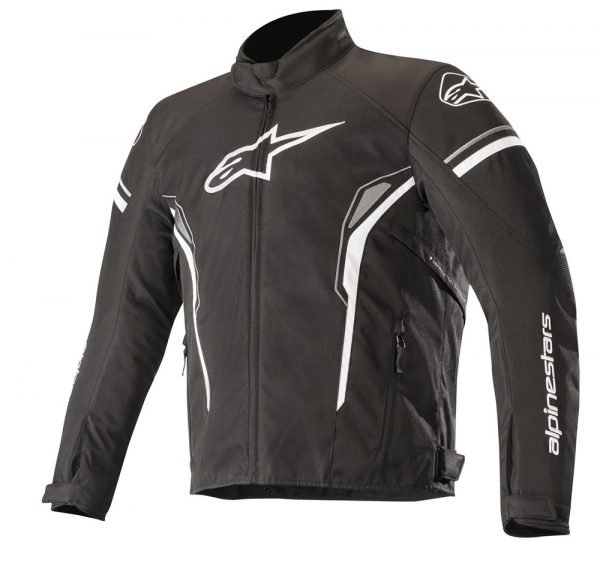 Alpinestars T-SP-1 Waterproof Jacket - Black/White colour, Scooter/Motorbike Clothing, London