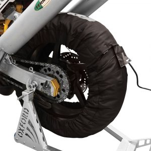 Oxford Tyre Warmers LCD 2 Setting 2 PIN PLUG (Pair)
