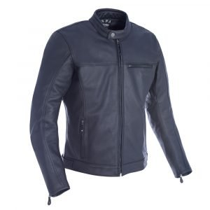 Oxford Men's Walton Leather Jacket Black