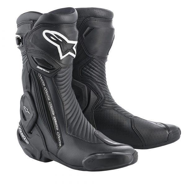 Alpinestars SMX Plus v2 Boots - Black/White