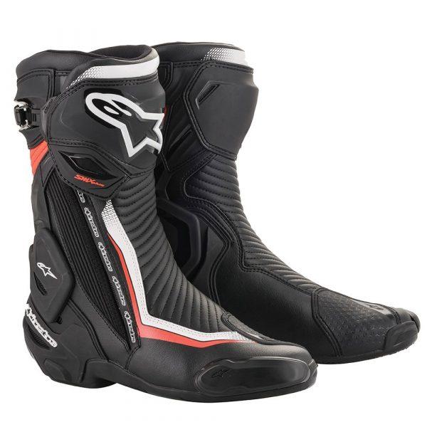 Alpinestars SMX Plus v2 Boots - Black/Red/White