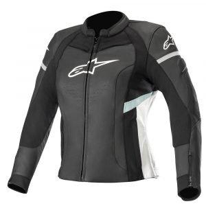 Alpinestars Stella Kira Leather Jacket - Black colour, CMG