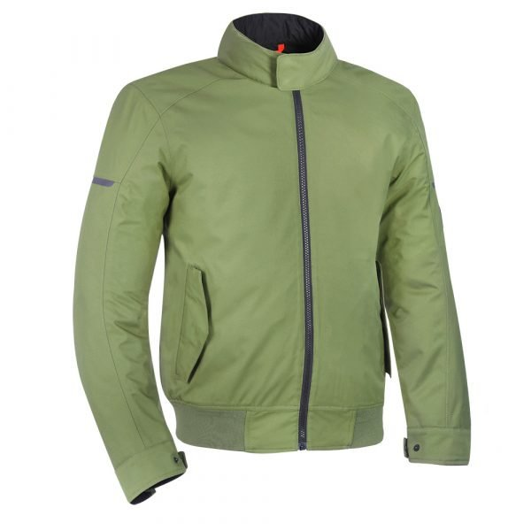 Oxford Harrington Jacket - Green colour, Motorcycles Clothing Shop