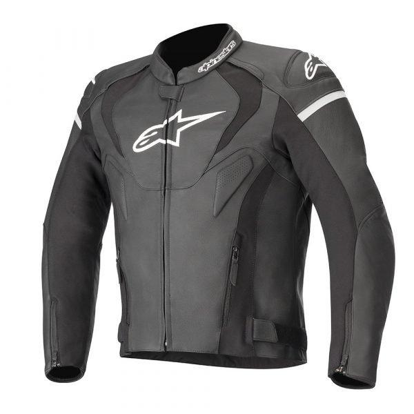 Alpinestars Jaws v3 Leather Jacket - Black colour, CMG