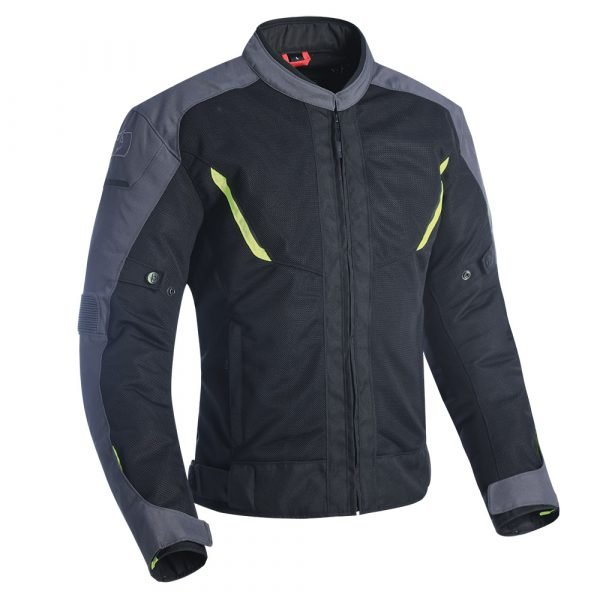 Oxford Delta 1.0 Air Jacket - Black/Grey/Fluo Yellow colour, MCS