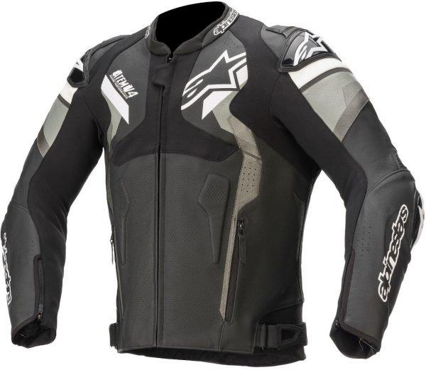 Alpinestars Atem v4 Leather Jacket - Black/Grey/White colour, London, UK