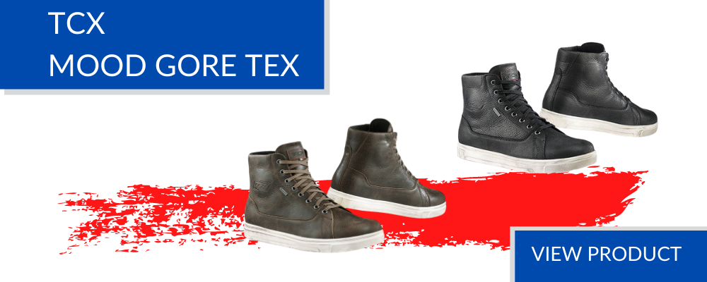 Motorcycle boots - TCX Mood Gore Tex UK London store