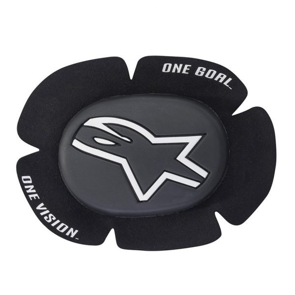 Alpinestars GP Sport Evo Knee Slider - Black/White colour, Chelsea, London
