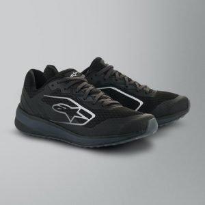 Alpinestars Meta Road Shoes - Black/Dark Grey colour