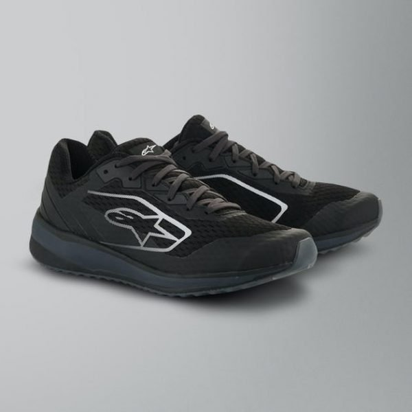 Alpinestars Meta Road Shoes - Black/Dark Grey colour
