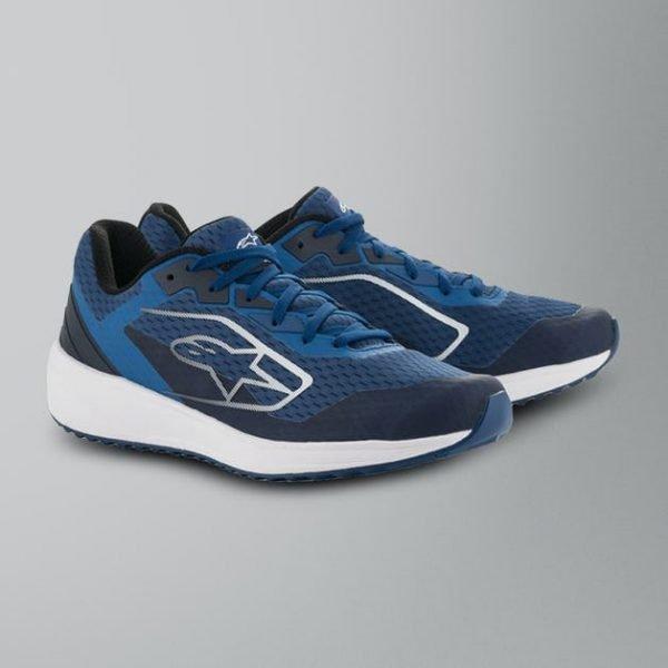 Alpinestars Meta Road Shoes - Blue/White colour, Chelsea, UK