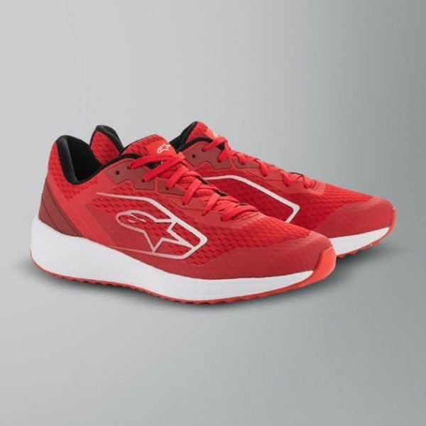 Alpinestars Meta Road Shoes - Red/White colour