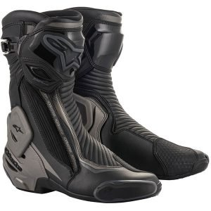 Alpinestars SMX Plus v2 boots - Black/Dark Grey