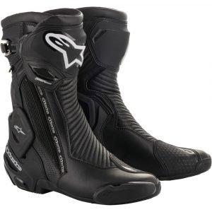 Alpinestars SMX Plus V2 Goretex Boots - Black/Silver