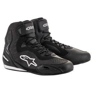 Alpinestars Faster3 Rideknit Shoes - Black colour, Motocycle Clothing Shop