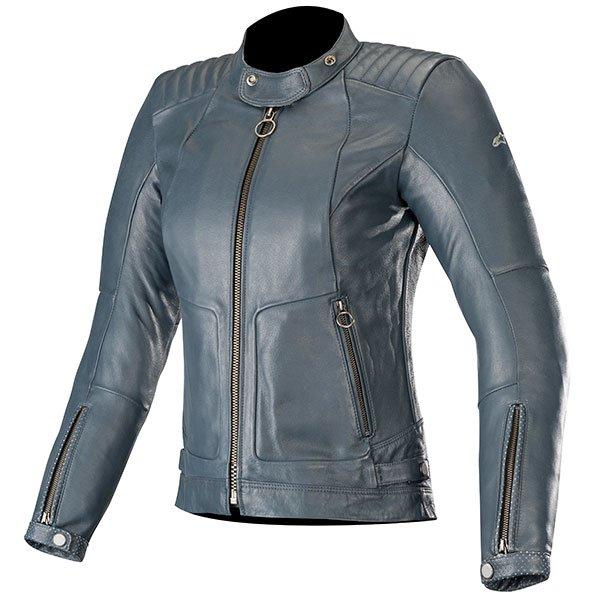 Alpinestars Ladies Leather jacket - Stella, Gal Mood Indigo