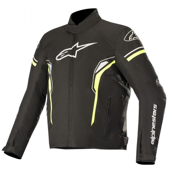Alpinestars T-SP-1 Waterproof Jacket - Black/Yellow/Fluo colour, MCS, Chelsea, London, UK