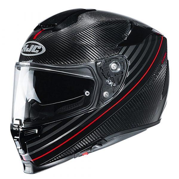 HJC RPHA 70 2020 Helmet - Artan Carbon Red colour, CMG, Chelsea, London