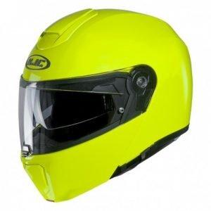 HJC RPHA 90s Helmet - Fluo Yellow colour, Chelsea, London, UK