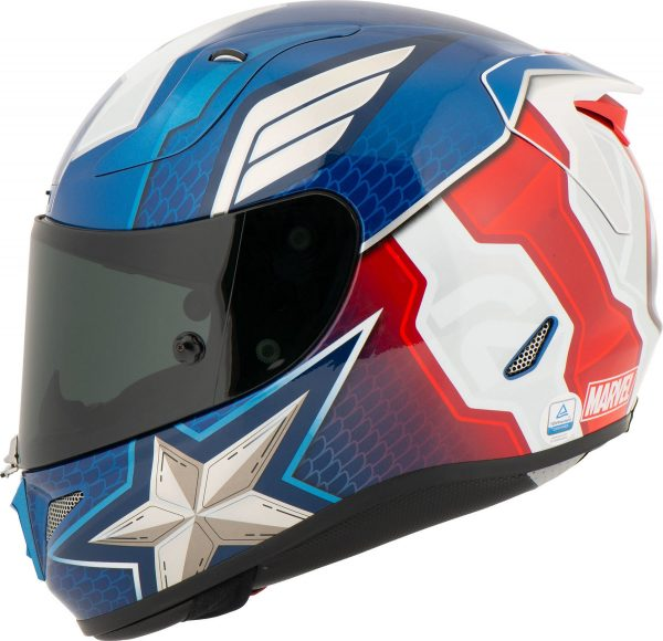 HJC Superhero Helmets - RPHA 11 Blue, Captain America