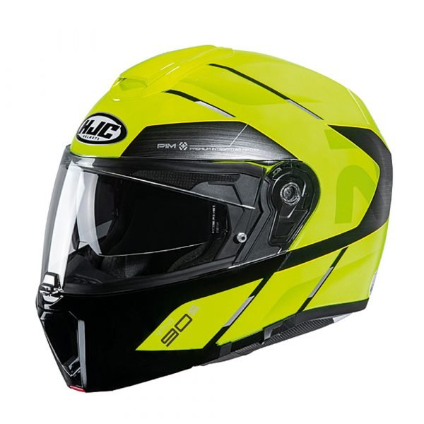 HJC RPHA 90s Helmet - Bekavo Yellow, MCS Shop London