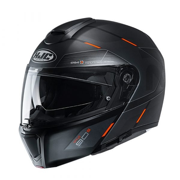 HJC RPHA 90s Helmet - Bekavo Orange colour, Chelsea, London