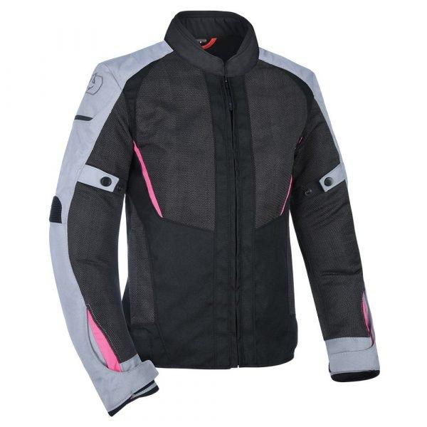 Oxford Iota 1.0 Air Women's Jacket - Black Grey & Pink